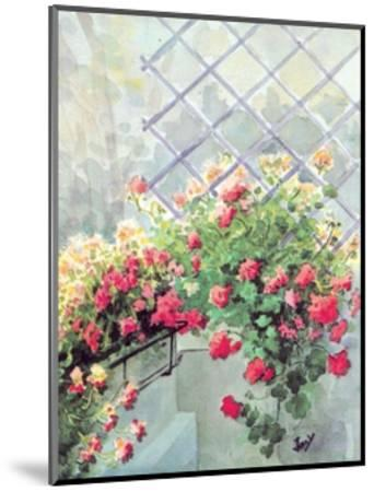 Jardin 6--Mounted Art Print