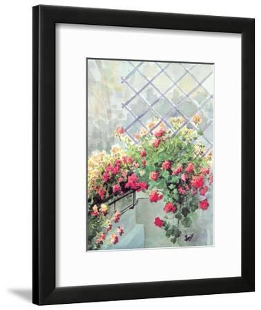 Jardin 6--Framed Art Print