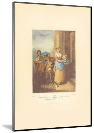 Turnips and Carrots, Ho-Francis Wheatley-Mounted Art Print