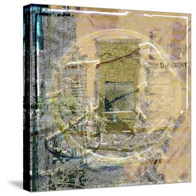 Coin Collage-Suzanne Silk-Stretched Canvas Print