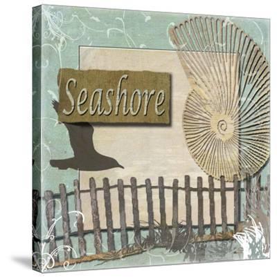Seashore-Karen J^ Williams-Stretched Canvas Print