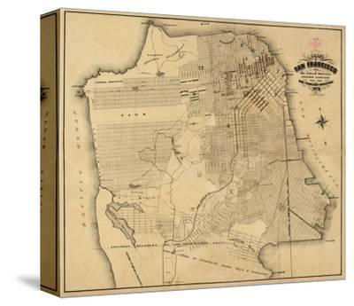 San Francisco, California, c.1873-Henry G^ Langley-Stretched Canvas Print