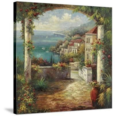 View From The Veranda-Peter Bell-Stretched Canvas Print
