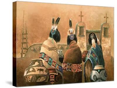 Mission Trio-Alma Lee-Stretched Canvas Print