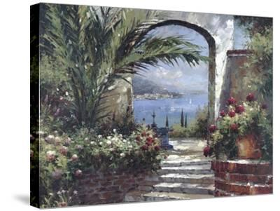 Rose Arch-Peter Bell-Stretched Canvas Print