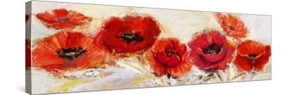 Fiori d'agosto-Luigi Florio-Stretched Canvas Print