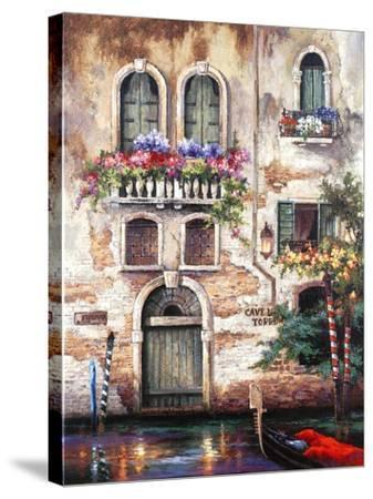 Door to Italy-Alma Lee-Stretched Canvas Print