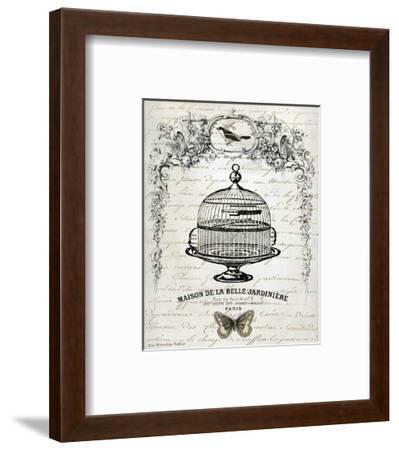 French Birdcage I-Gwendolyn Babbitt-Framed Art Print
