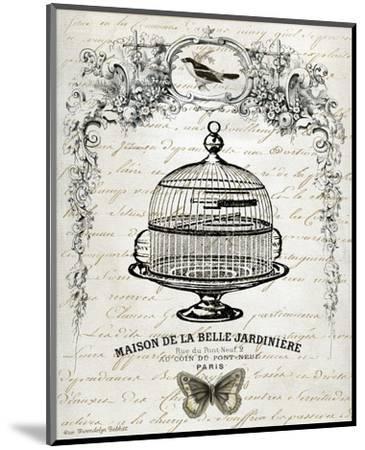 French Birdcage I-Gwendolyn Babbitt-Mounted Art Print