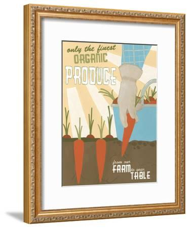 Organic Produce-Erica J^ Vess-Framed Art Print