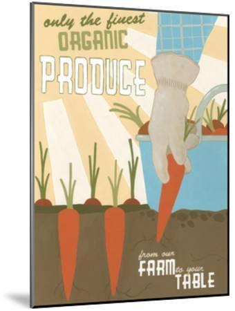 Organic Produce-Erica J^ Vess-Mounted Art Print