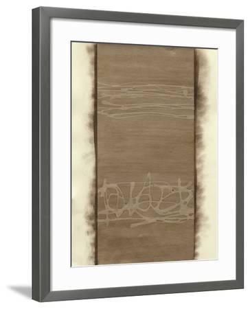 Metal Alloy in Champagne-Renee W^ Stramel-Framed Art Print