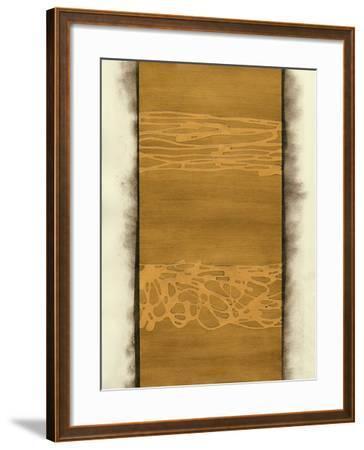 Metal Alloy in Bright Gold-Renee W^ Stramel-Framed Art Print
