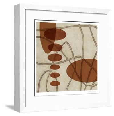 Earthen Ovals I-Jennifer Goldberger-Framed Limited Edition