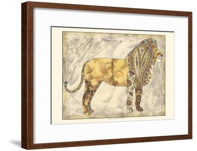 Royal Lion-Chariklia Zarris-Framed Art Print