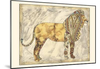 Royal Lion-Chariklia Zarris-Mounted Art Print