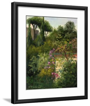 The Villa Next Door-Mary Jean Weber-Framed Giclee Print