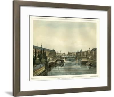 Vue Du Pont Royal--Framed Giclee Print
