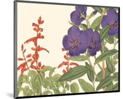 Small Japanese Flower Garden VI-Konan Tanigami-Mounted Art Print