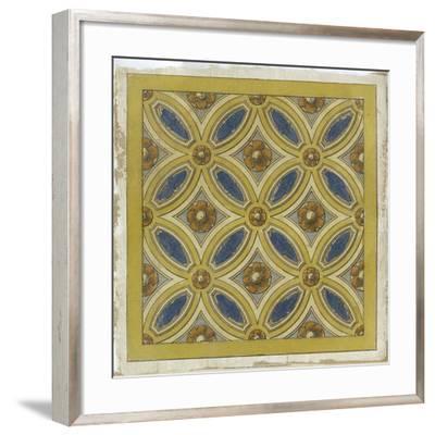 Florentine Tile III--Framed Giclee Print