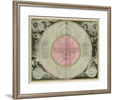 Planetary Chart IV--Framed Giclee Print