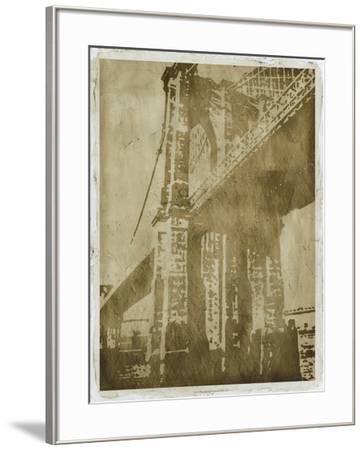 Bridge Etching I-Ethan Harper-Framed Art Print