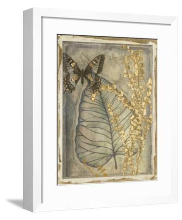 Leaf Fossil I-Jennifer Goldberger-Framed Giclee Print