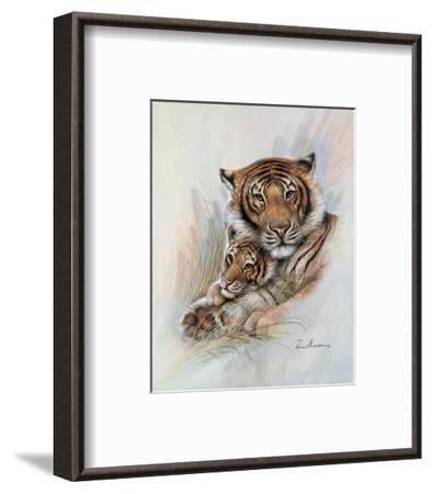 Safe & Sound-Ruane Manning-Framed Art Print
