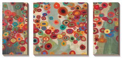 Celebration-Don Li-Leger-Framed Canvas Art Set