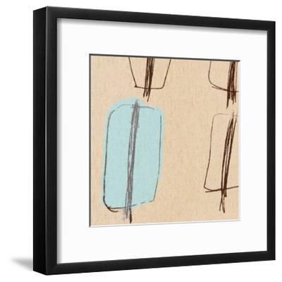 Blue Bayou IV-Alice Buckingham-Framed Giclee Print