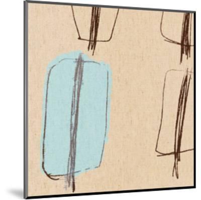 Blue Bayou IV-Alice Buckingham-Mounted Giclee Print