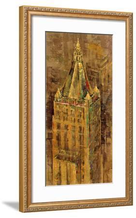 City Ornate III-Longo-Framed Giclee Print