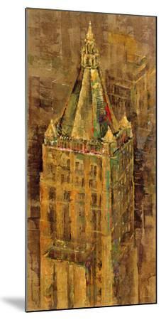 City Ornate III-Longo-Mounted Giclee Print