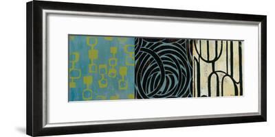 Graphic Science II-Bridges-Framed Giclee Print