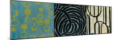 Graphic Science II-Bridges-Mounted Giclee Print
