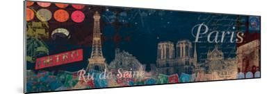 Paris Streets-Tom Frazier-Mounted Giclee Print