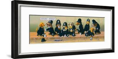 Court Street-Bryan Moon-Framed Giclee Print