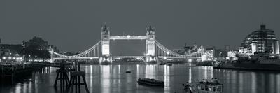 Tower Bridge Reflections-John Harper-Framed Giclee Print