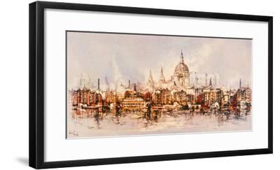 Thameside-Ben Maile-Framed Giclee Print