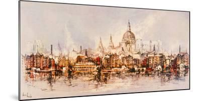 Thameside-Ben Maile-Mounted Giclee Print