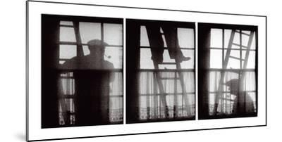 The Window Cleaners-Keith Cardwell-Mounted Giclee Print