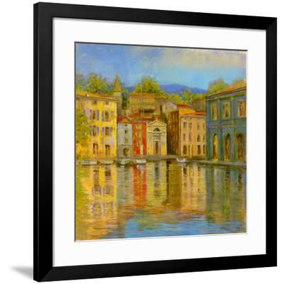 Mirrored Villa-Longo-Framed Giclee Print