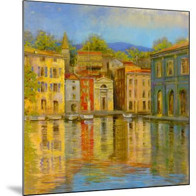 Mirrored Villa-Longo-Mounted Giclee Print