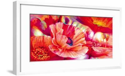 Poppy Homage-Nick Vivian-Framed Giclee Print