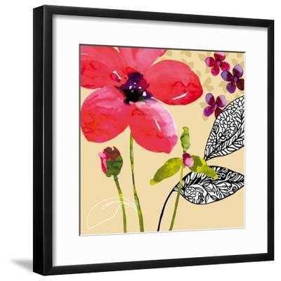Fun Flowers I-Sandra Jacobs-Framed Giclee Print