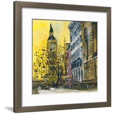 Victoria Embankment, London-Susan Brown-Framed Giclee Print