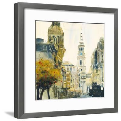 St. Martin's Lane, London-Susan Brown-Framed Giclee Print