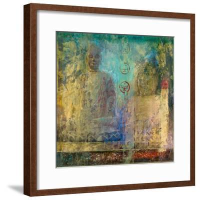 Meditation Gesture IV-Santiago-Framed Giclee Print