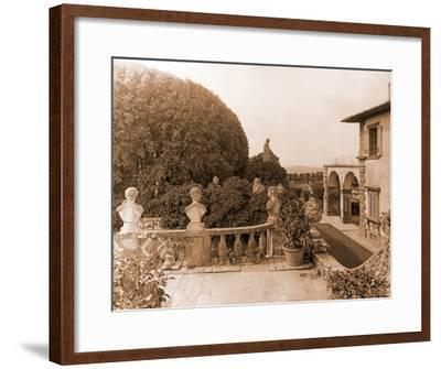 Villa Gamberaia-Charles Latham-Framed Giclee Print