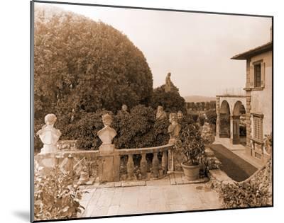 Villa Gamberaia-Charles Latham-Mounted Giclee Print